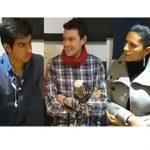 Carolina Polania, Jaime Avellaneda y Daniel Hernández