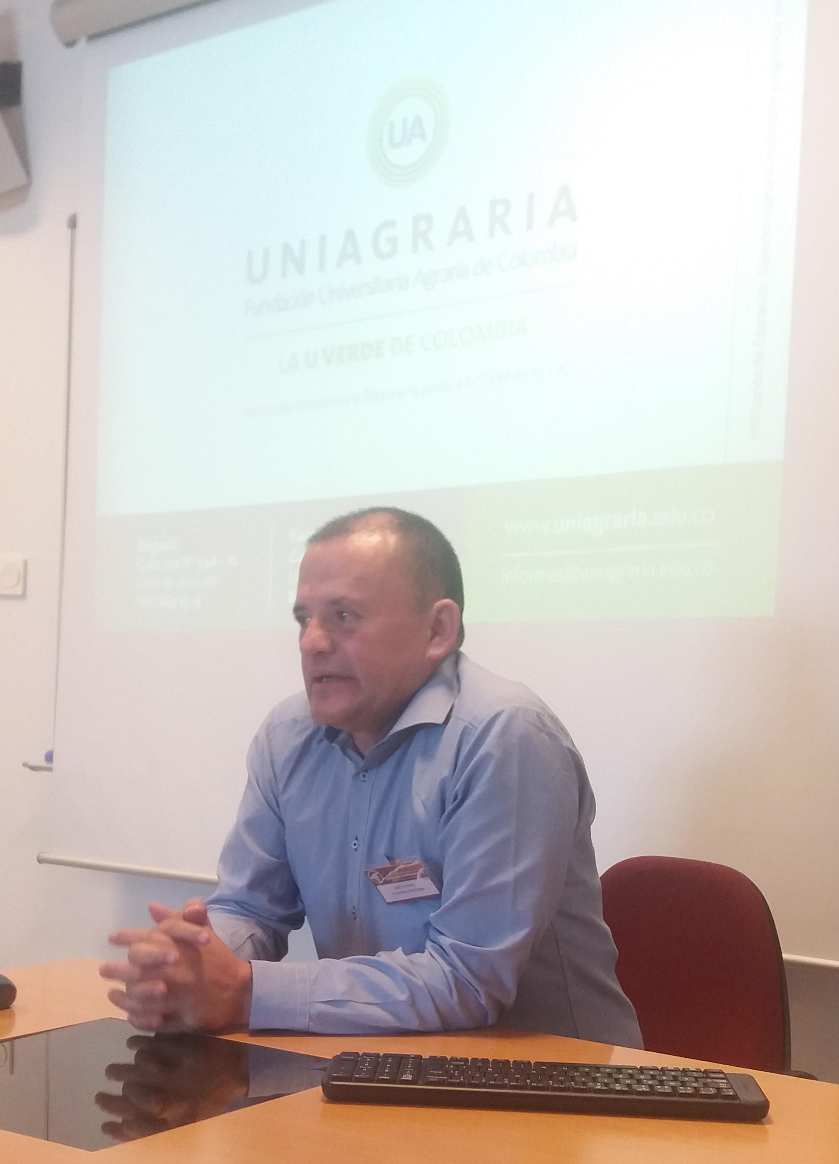 Investigador de Uniagraria presente en España y Suiza