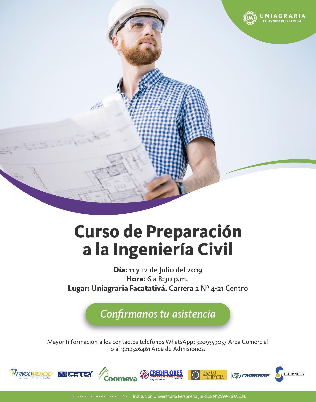 Curso de Preparación a la Ingeniería Civil