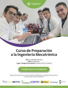 Curso de Preparación a la Ingeniería Mecatrónica