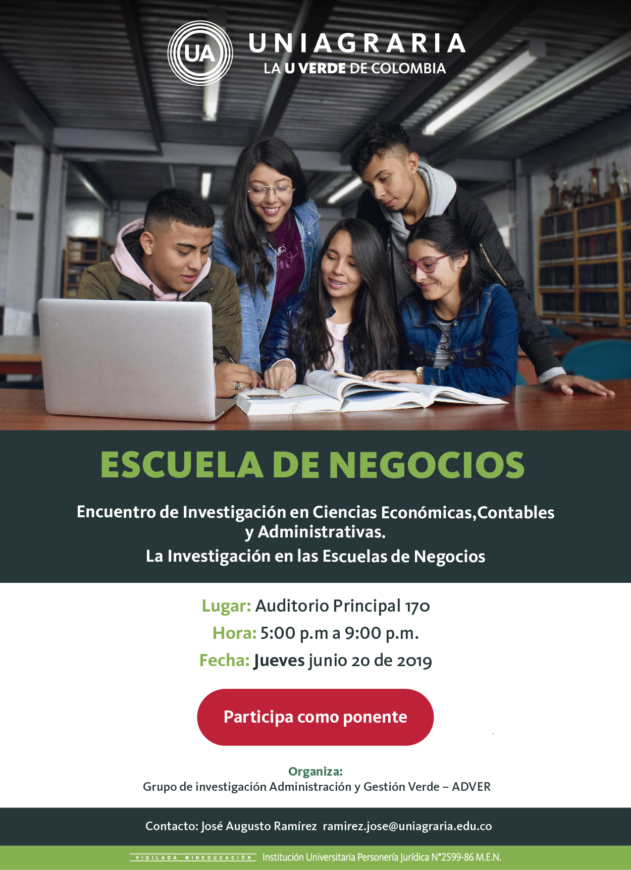 La investigación en las Escuelas de Negocios