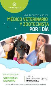 Sé un Médico Veterinario y Zootecnista por 1 Día