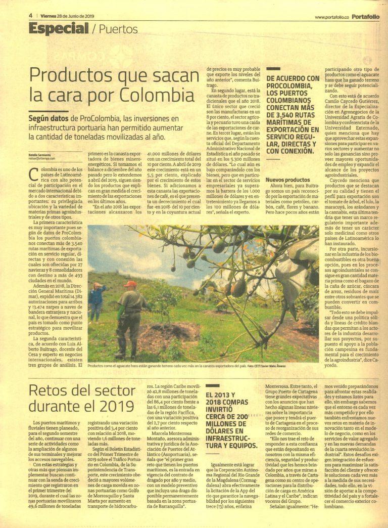 Productos que sacan la cara por Colombia. #UAenmedios