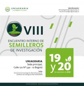 VIII Encuentro interno de semilleros de investigación