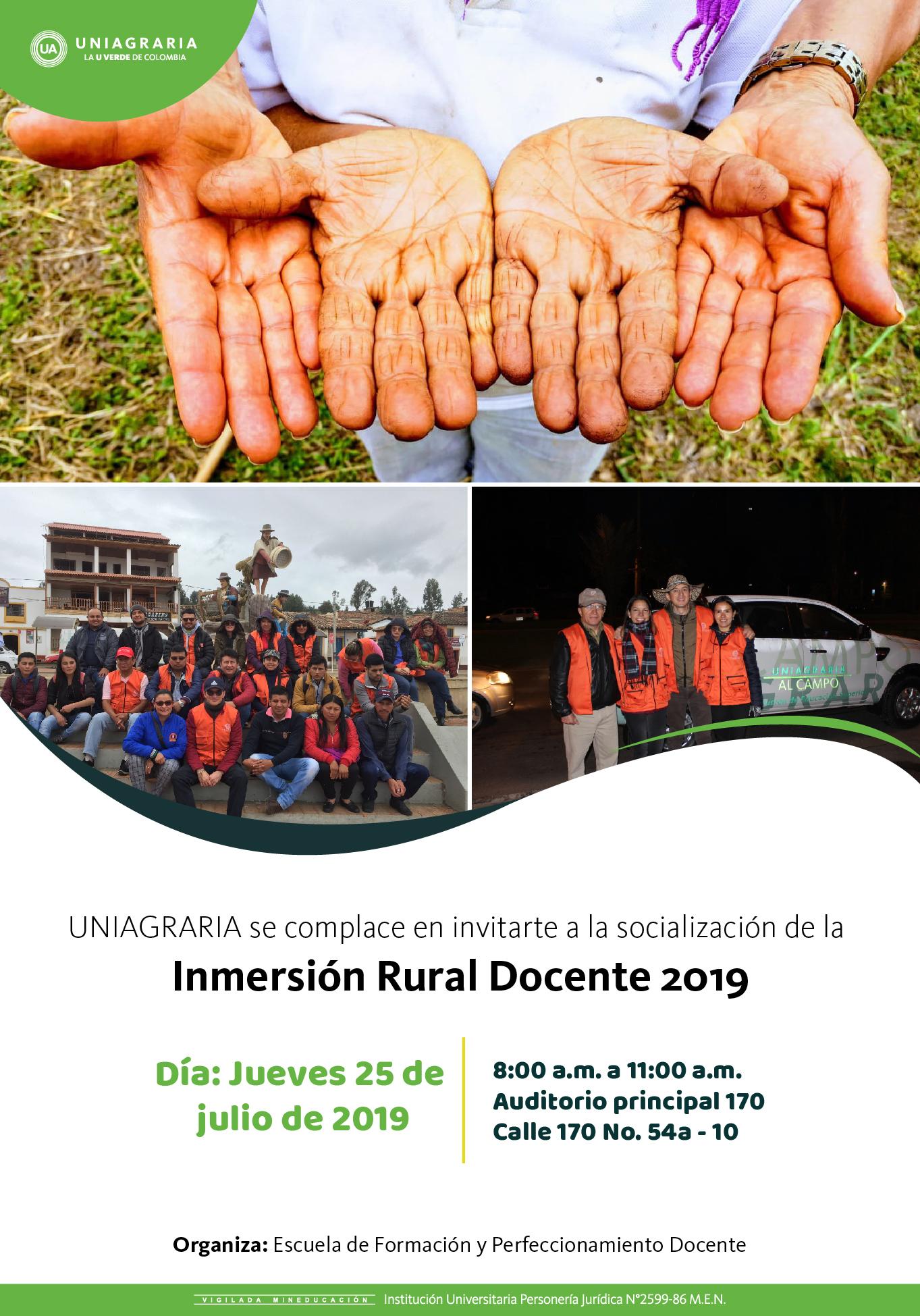 Inmersión Rural Docente 2019