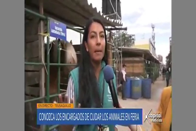 Conozca los encargados de cuidar los animales en feria Agroexpo. #UAenmedios