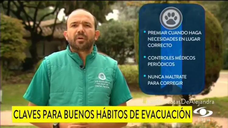 Claves para buenos hábitos de evacuación. #UAenmedios