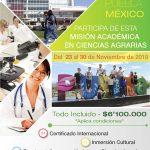 Misión académica en Ciencias Agrarias – Puebla Mexico