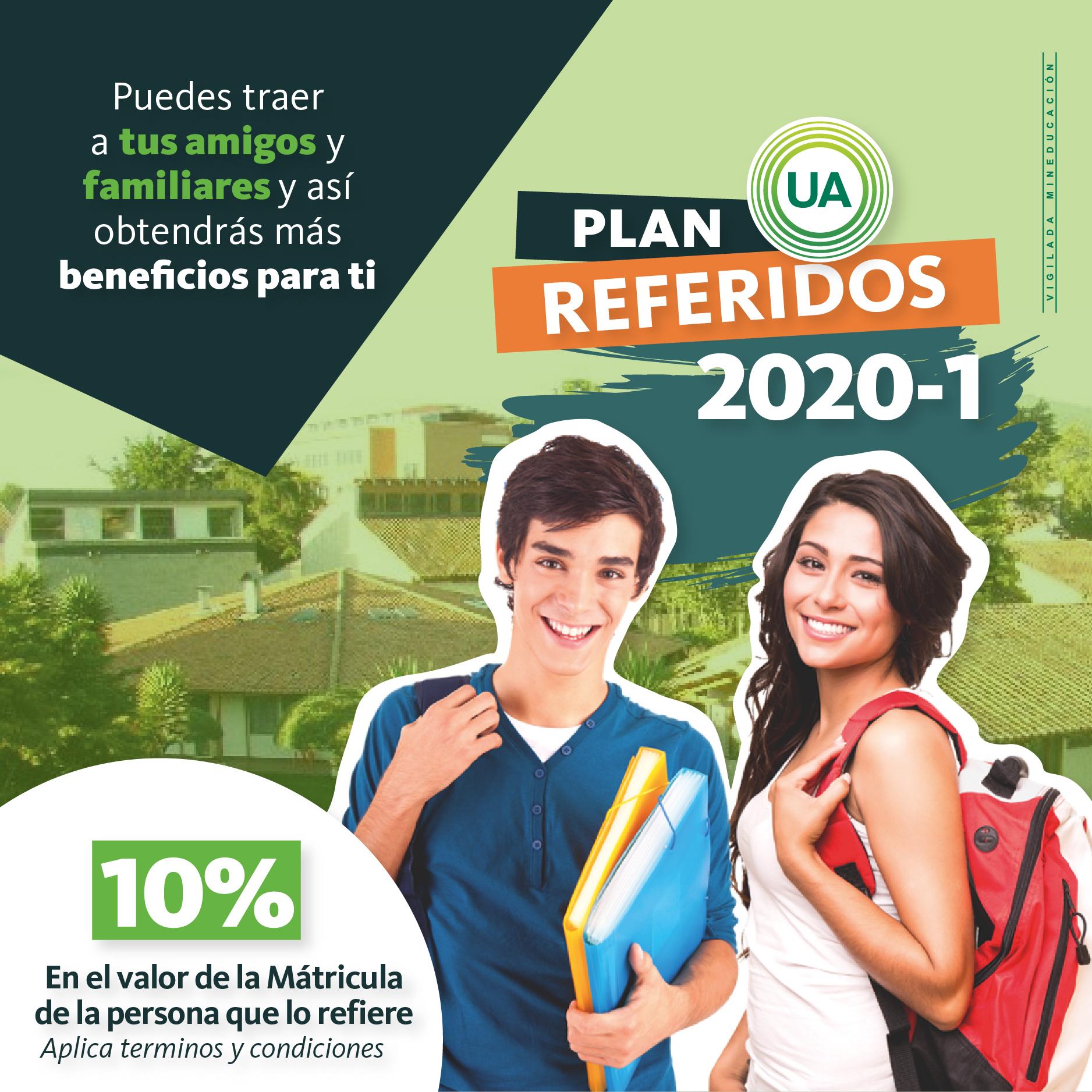 Plan referidos 2020-1