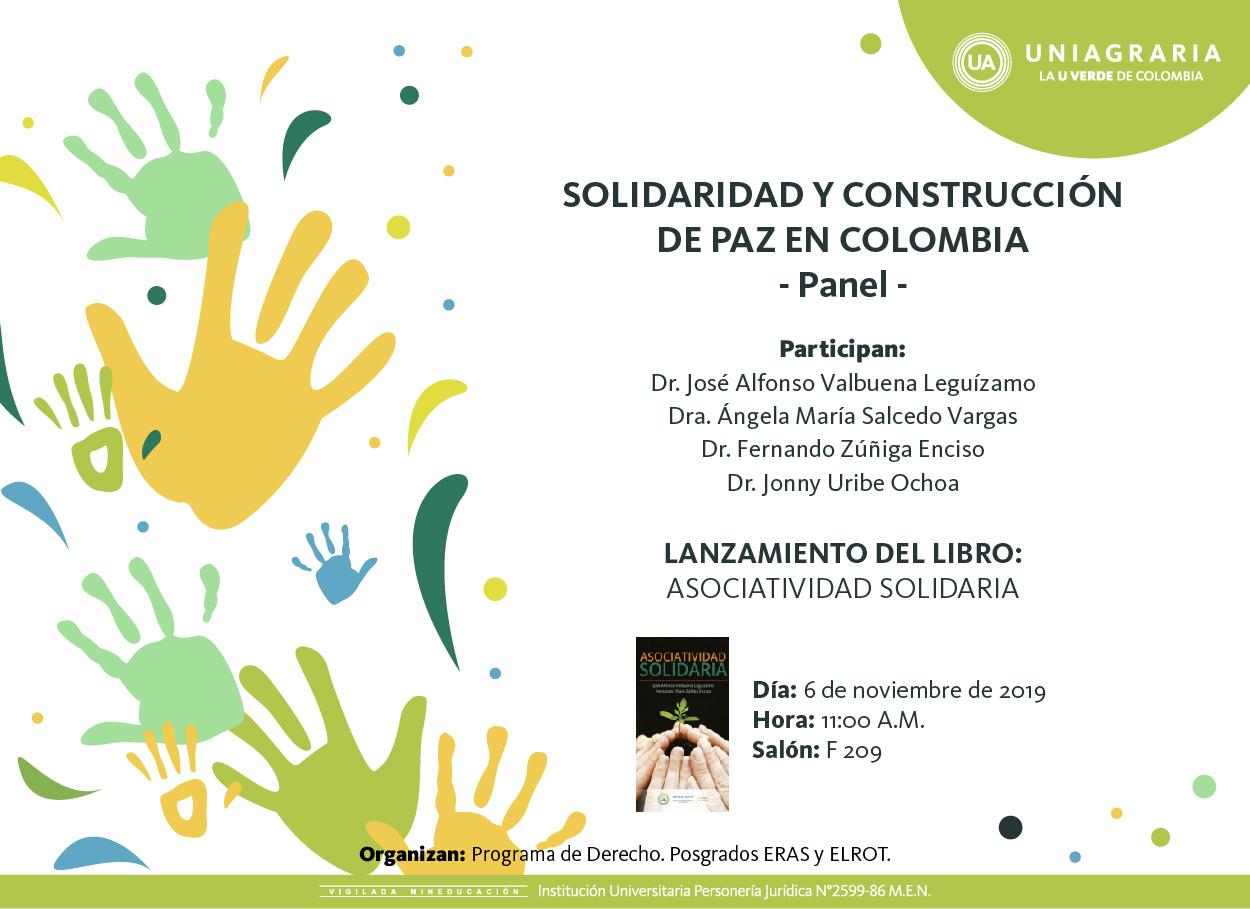 Solidaridad y construcción de paz en Colombia