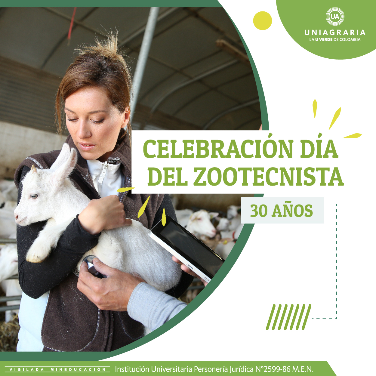 Celebración día del Zootecnista