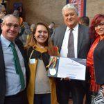 Ministerio de Educación condecoró a Uniagraria en la Noche de los Mejores