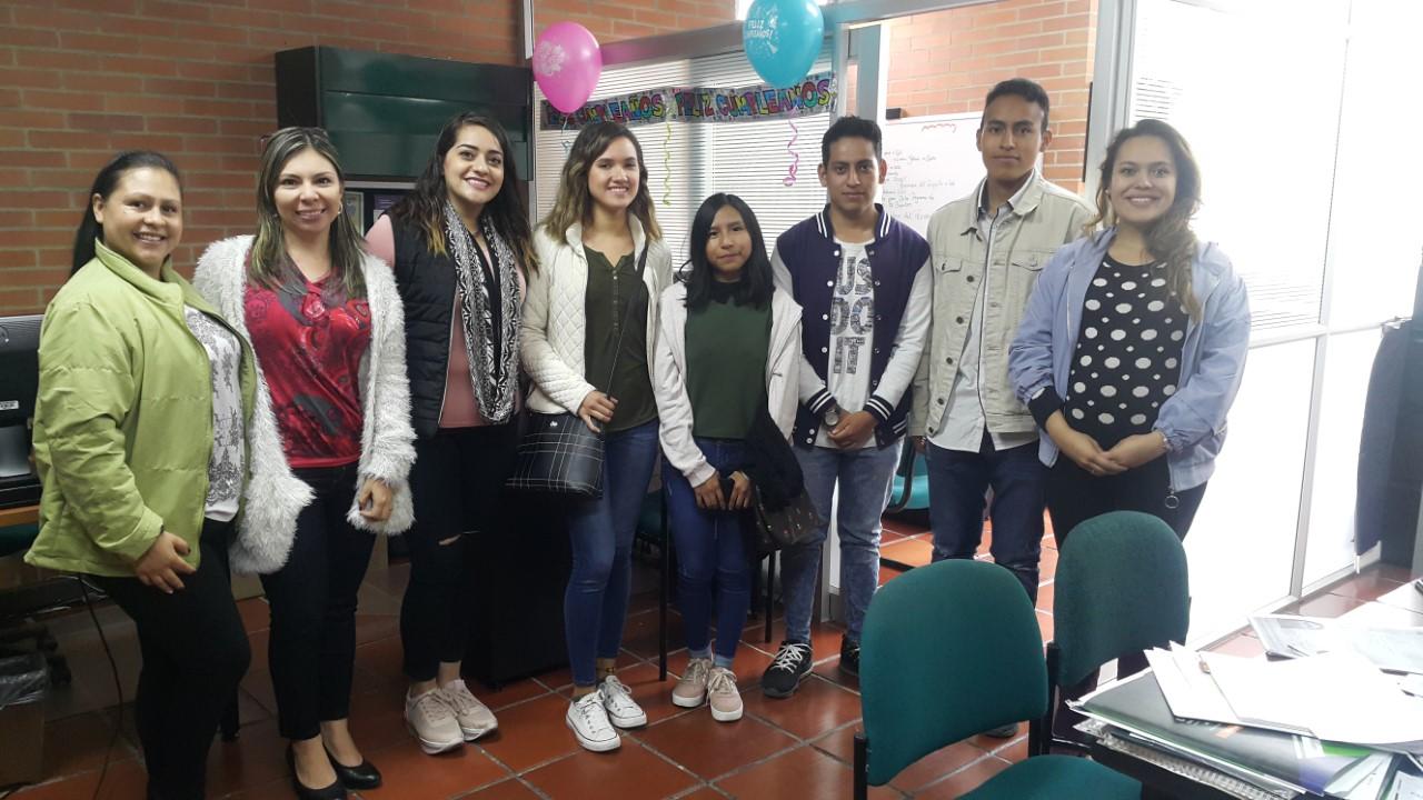 La oficina de relaciones internacionales y los programas de ingeniería de alimentos e ingeniería agroindustrial le dan la bienvenida a los estudiantes extranjeros del presente semestre 2020-I
