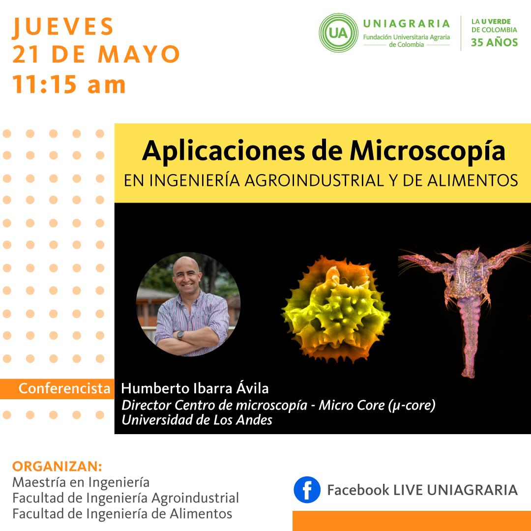 Aplicaciones de Microscopia en Ingeniería Agroindustrial y de Alimentos