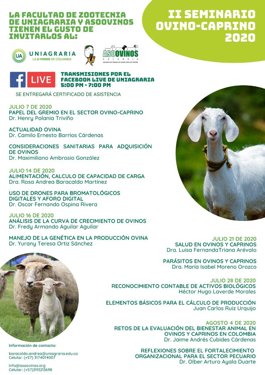 ll Seminario ovino-caprino 2020
