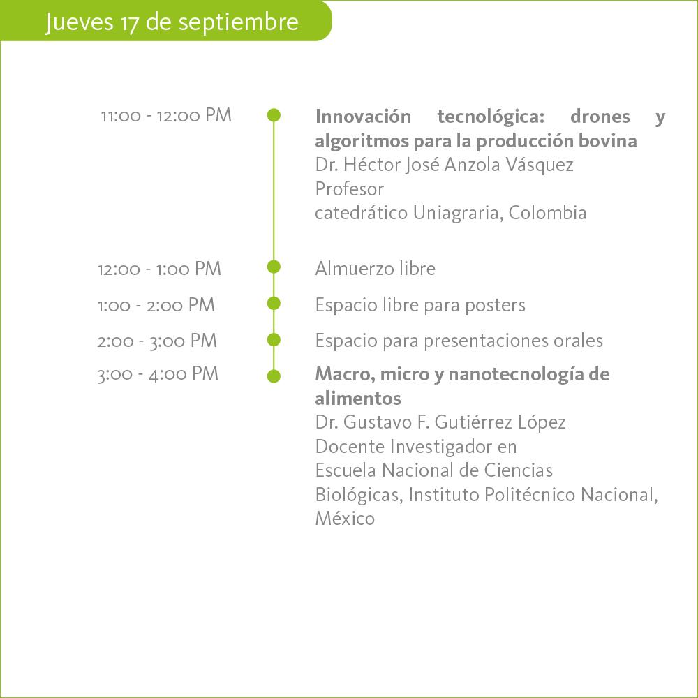 ll seminario internacional de Alimentación y Nutricional Animal