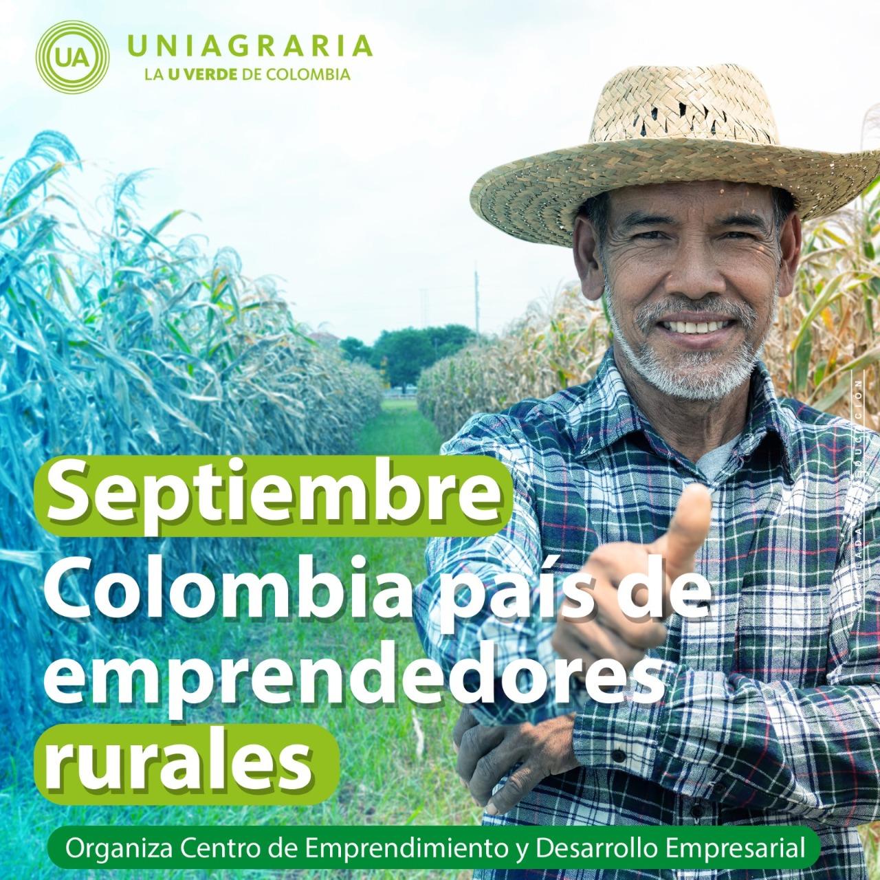 Colombia país de emprendedores rurales