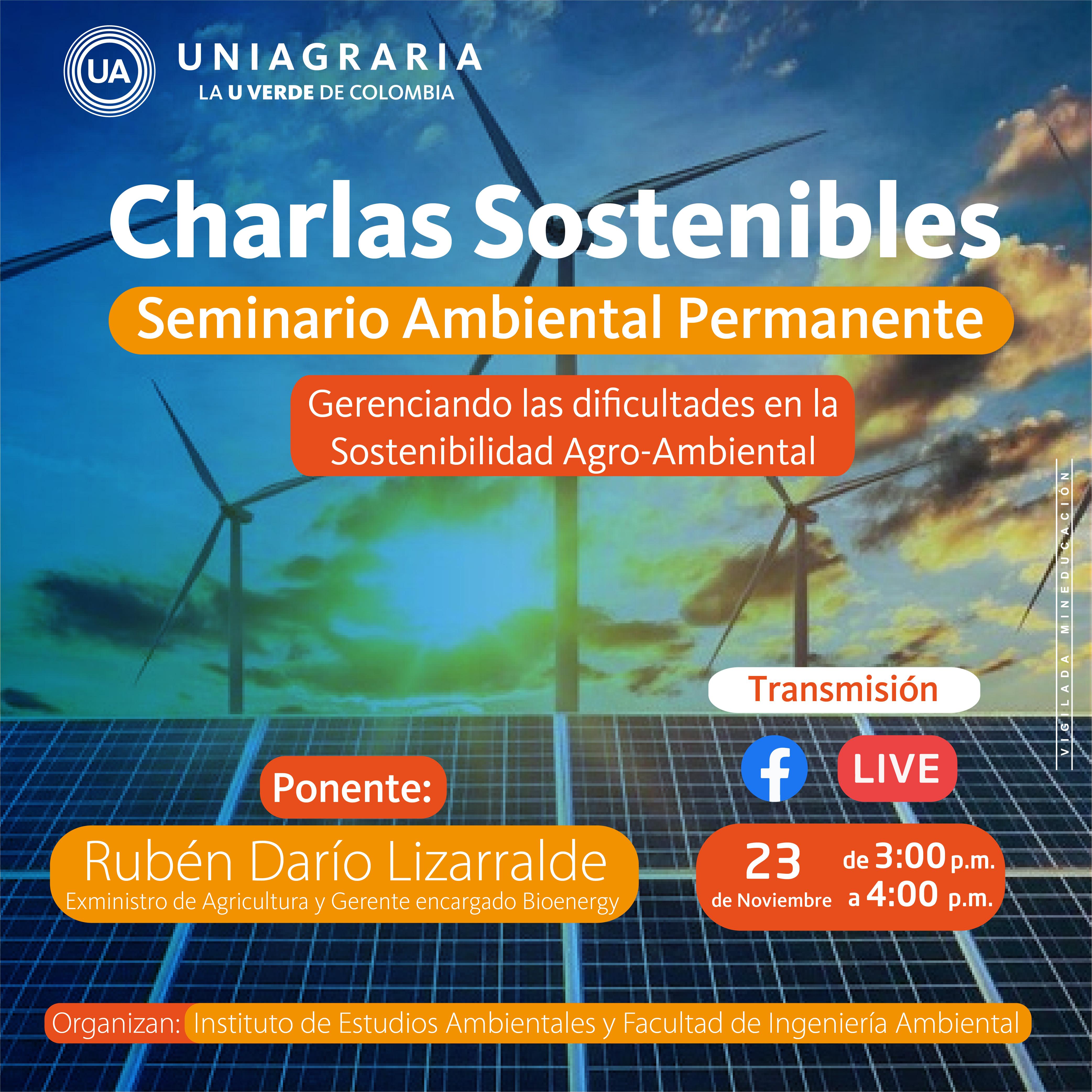 Charlas sostenibles: Seminario Ambiental Permanente