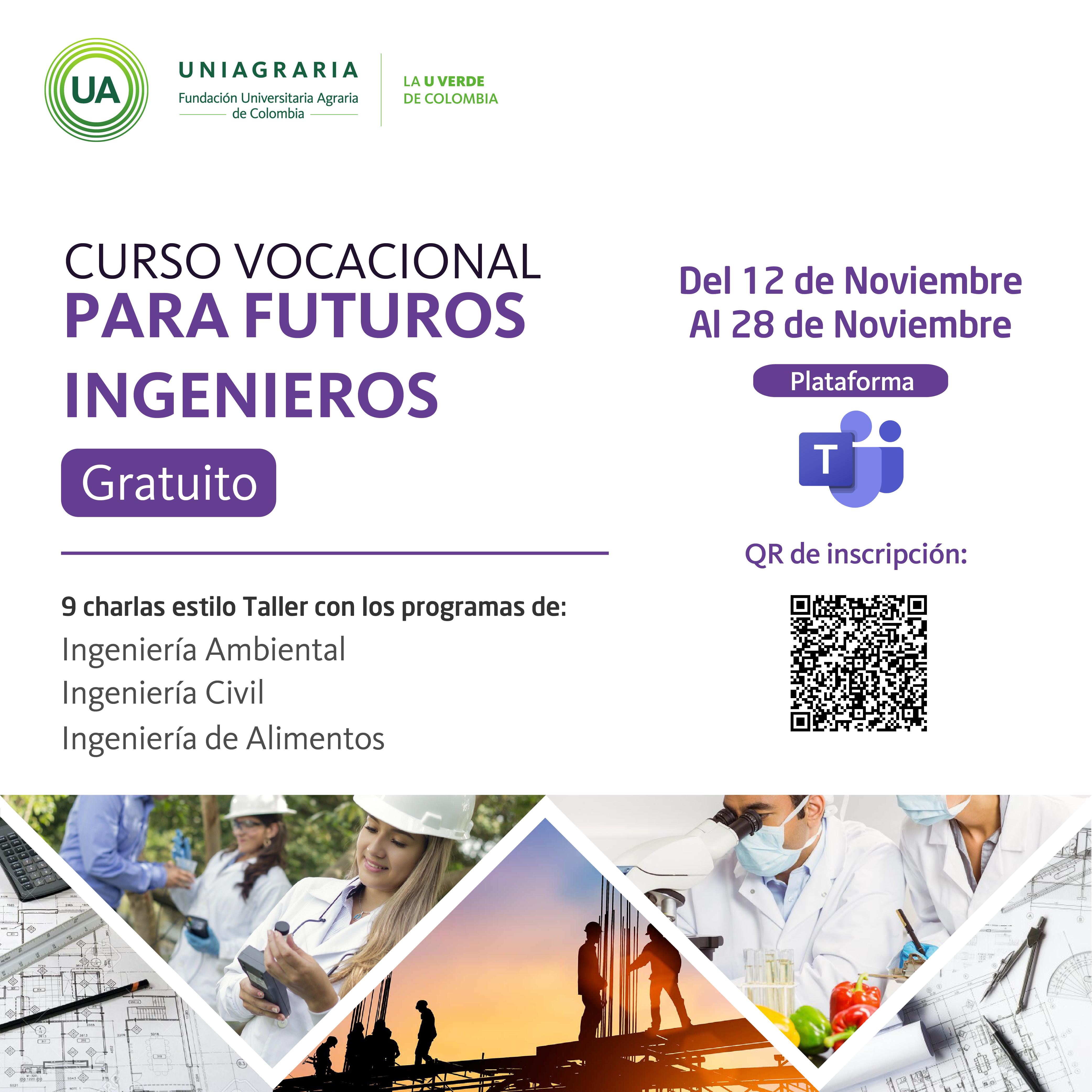 Curso vocacional para futuros Ingenieros