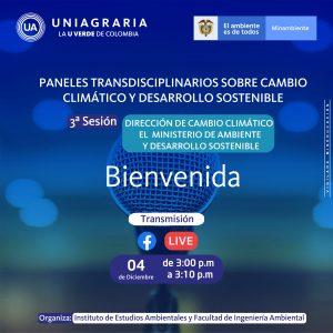 Paneles transdisciplinarios sobre cambio climático y desarrollo sostenible