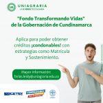 Fondo Transformando vidas de la Gobernación de Cundinamarca