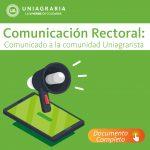 Comunicación Rectoral: Inicio 2021