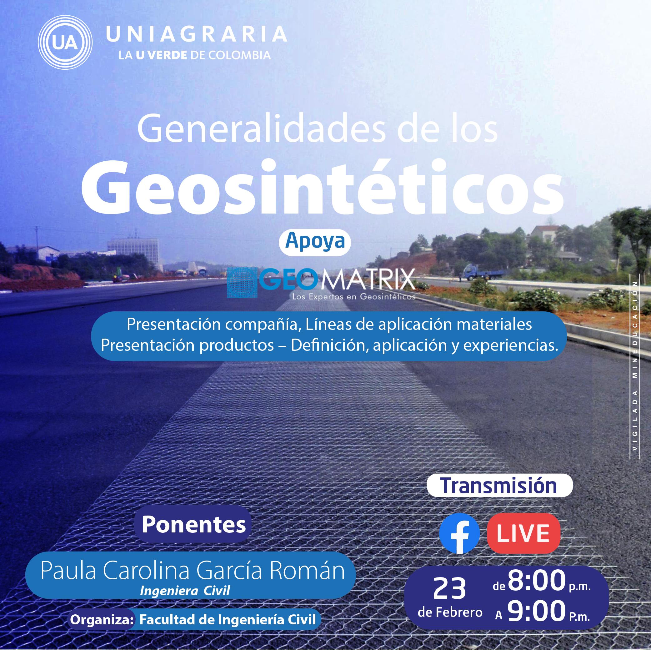 Generalidades de los Geosintéticos