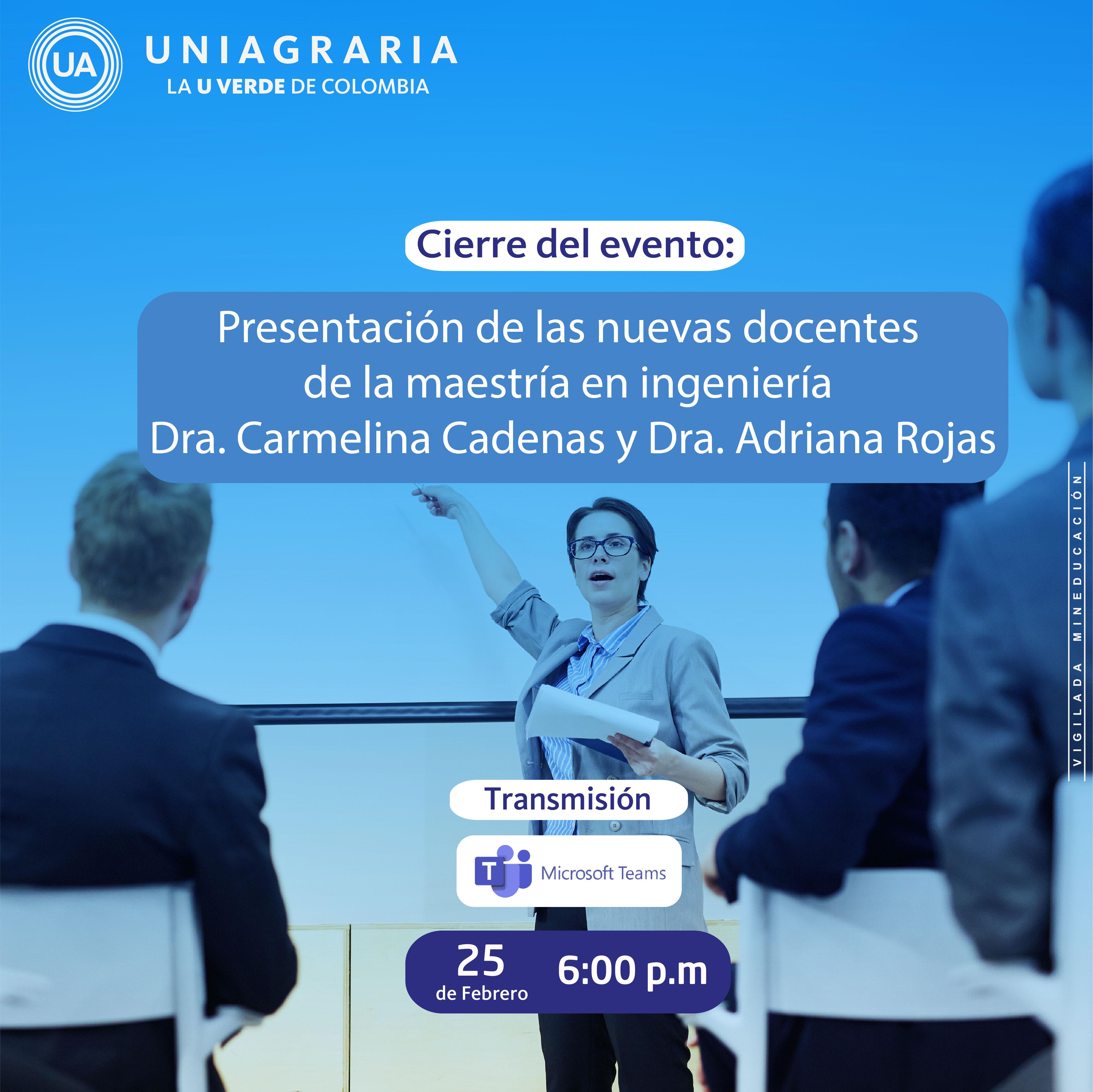 II Seminario de Maestría en Ingeniería UNIAGRARIA 2021