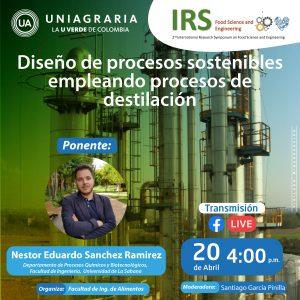 Diseño de procesos sostenibles empleando procesos de destilación