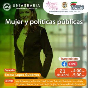 Mujer y políticas públicas