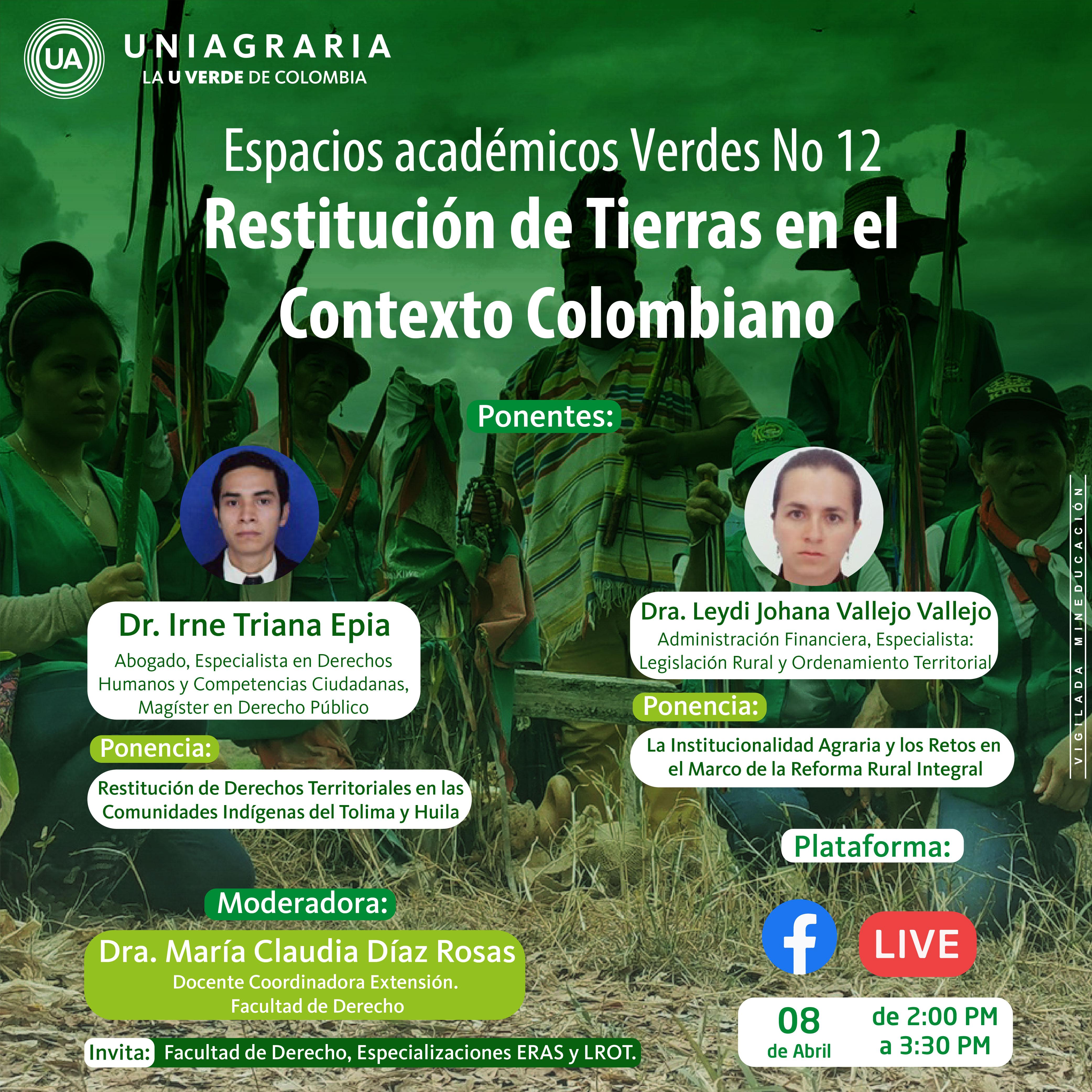 Restitución de Tierras en el Contexto Colombiano