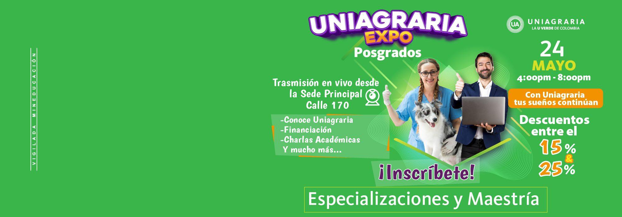 Expo Uniagraria posgrados
