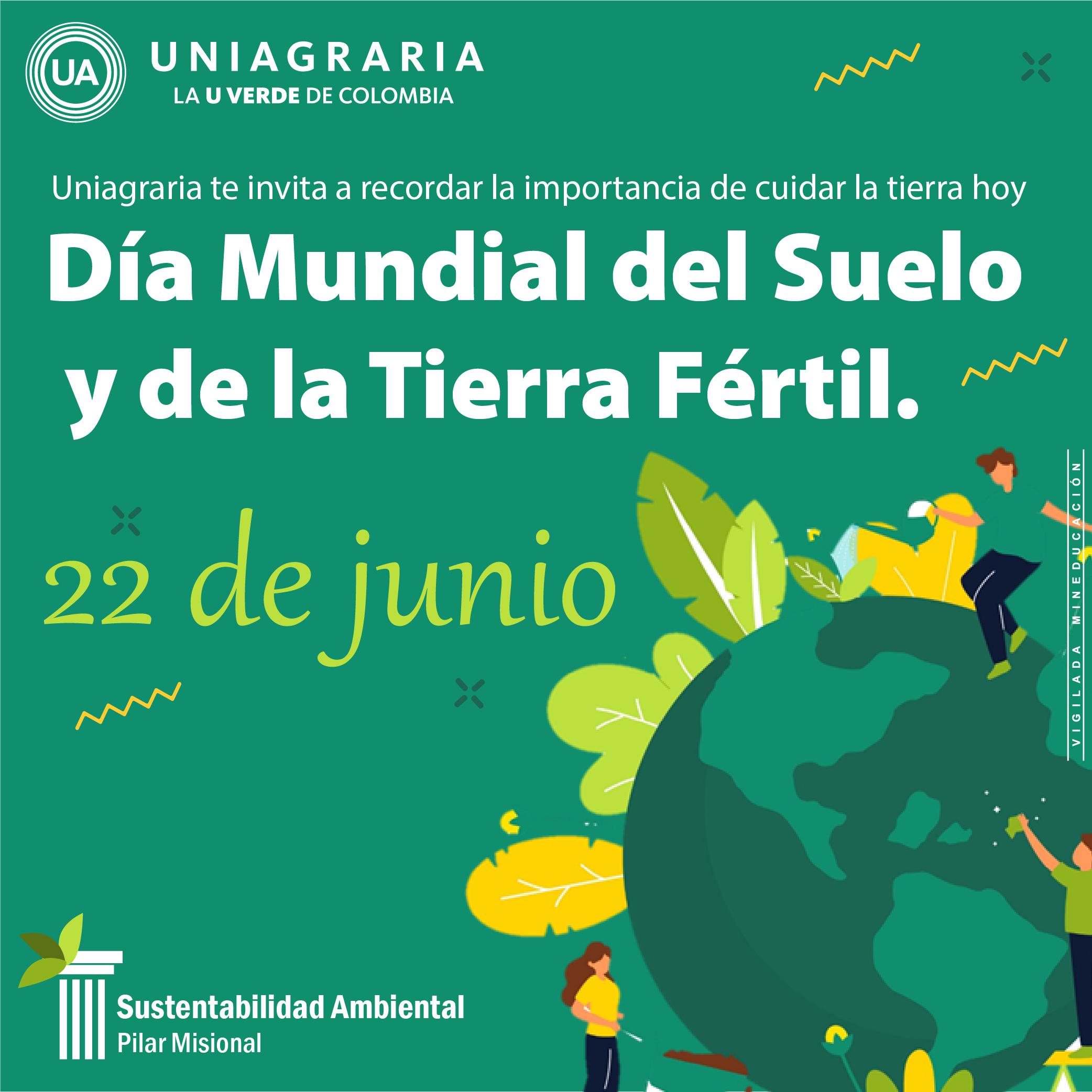 Día Mundial del Suelo y de la Tierra Fértil