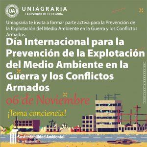 Día Internacional para la Prevención de la Explotación del Medio Ambiente en la Guerra y los Conflictos Armados