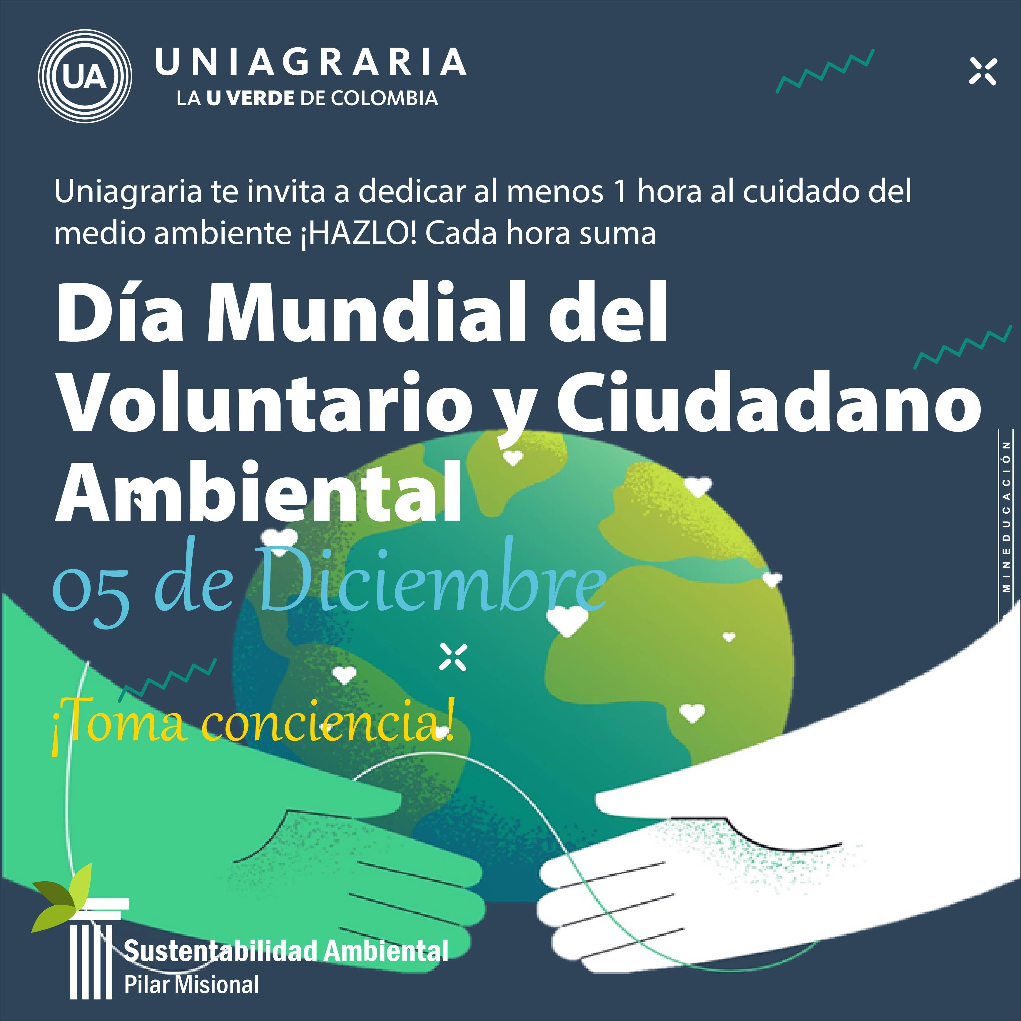 Día Mundial del Voluntario y Ciudadano Ambiental