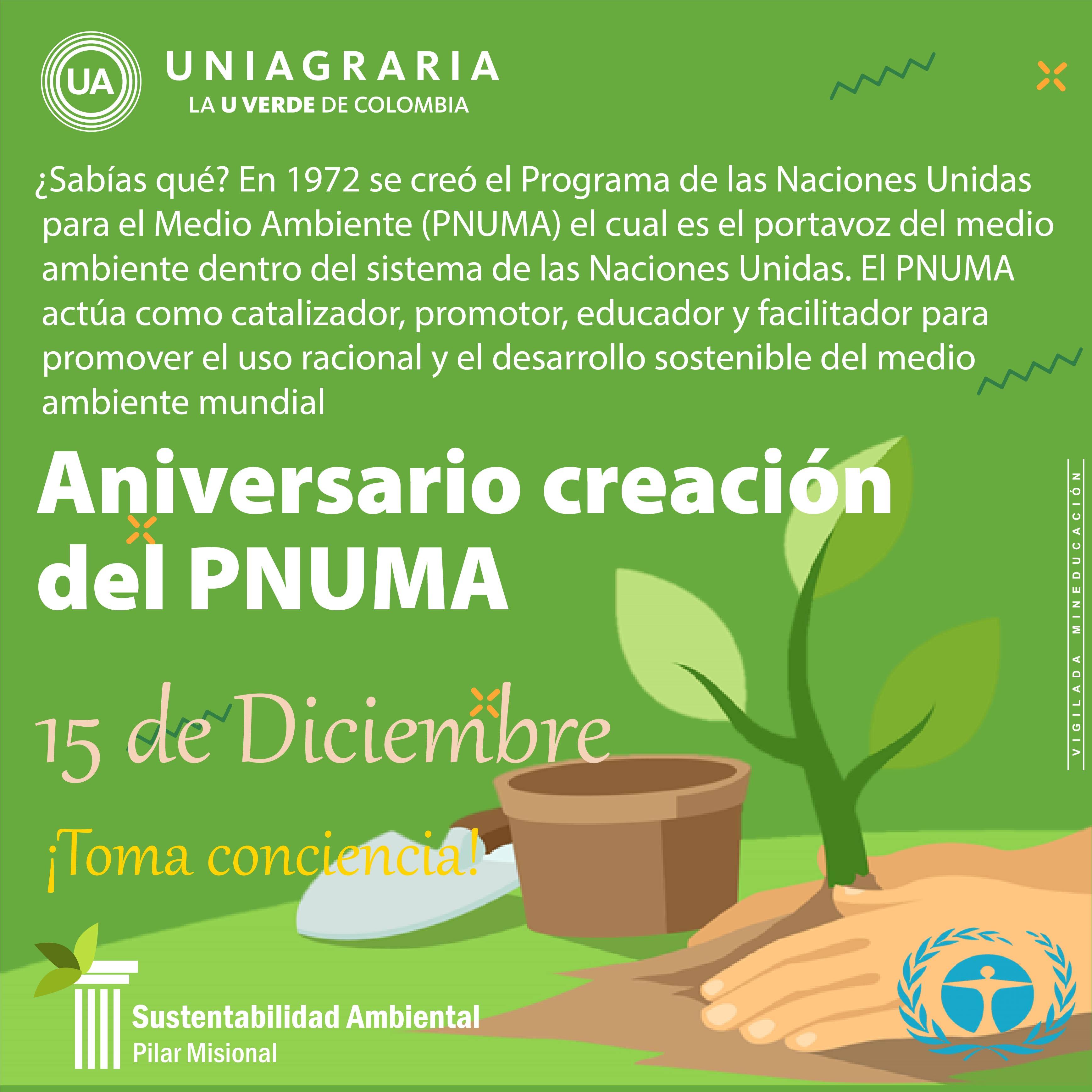 Aniversario creación del PNUMA