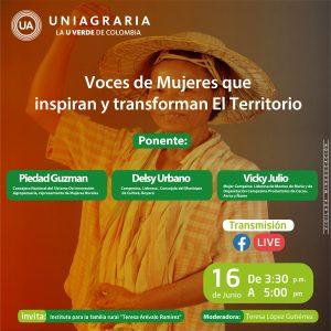Voces de Mujeres que inspiran y transforman El Territorio