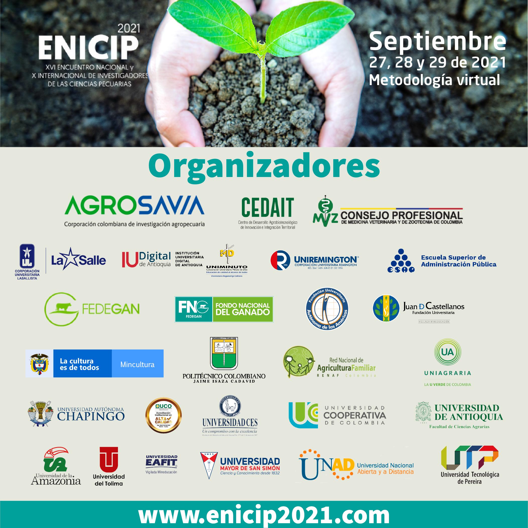 XVI Encuentro Nacional y IX Internacional de investigadores de las ciencias pecuarias