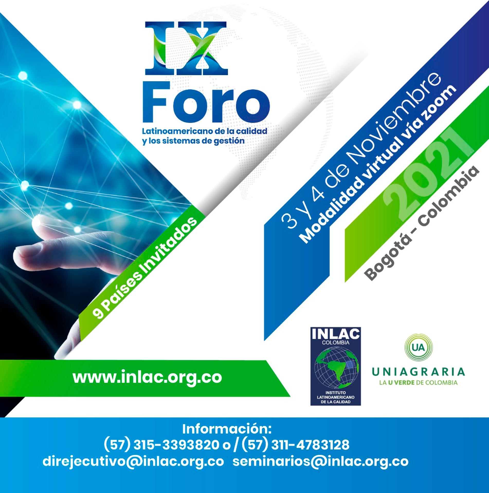 IX Foro Latinoamericano de la calidad y los sistemas de gestión