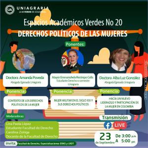 Espacios académicos verdes N°20