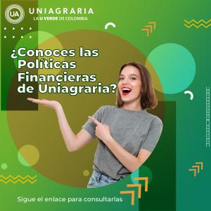 Rendición de cuentas 2020 y  políticas financieras de Uniagraria